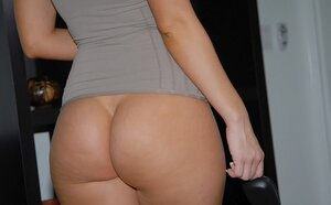 Buxom blonde and plus hot brunette embark oral foreplay on floor in 69 pose